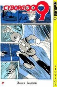Cyborg 009, Vol. 2 - Paperback By Shotaro Ishinomori Manga Volume 2