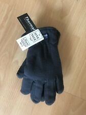 mens thermal gloves Grey