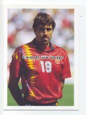 TC0070 - Spain Striker - Julio Salinas - postcard Barratt Europes Best