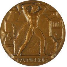 Nude LA PIERRE bronze 59mm by Georges Ridet