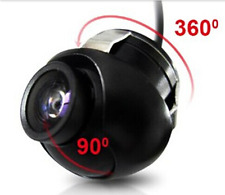 360 degree rotation HD car camera reverse cam