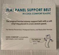 "Nu-Hope 6702 6"" CC Latex Free Flat Panel Support Belt Left Side/Large 2-3/8"""