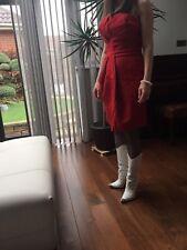 Dsquared2 Red Dress Sz 42 IT 10 UK