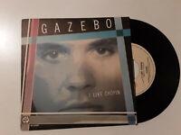 """Gazebo – I Like Chopin  - Disco Vinile 45 Giri 7"""" Stampa ITALIA 1983"""