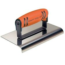 Kraft Tool Hand Concrete Edger Stainless Steel 14 Radius