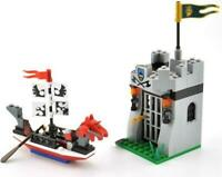 Knights Prison Castle & Boat Custom Lego Set