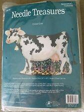 """Needle Treasures """"Cassie Cow"""" Needlepoint Kit"""