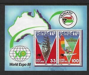 1988 World Expo Mini Sheet Fine Used