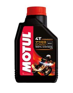 MOTUL OLIO MOTO 7100 4T 20W-50 20W50HARLEY DAVIDSON 4 TEMPI JASO T 903 MA2 PER