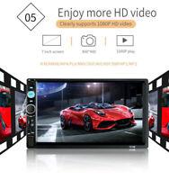 "7"" Inch Car Stereo Radio 1080P Mp5 Player Bluetooth Radio Android IOS USB/TF New"