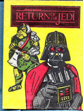 RARE  -  1983 Star Wars: Return of the Jedi Wrapper from  HOLLAND  -  RARE
