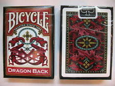 Lot of 12 Bicycle Dragon Back Red Playing Cards Brand New