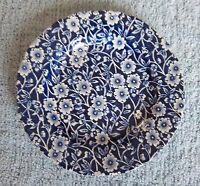 ROYAL STAFFORDSHIRE BLUE CALICO SIDE OR CHEESE PLATE
