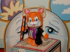 "DISNEY VINYLMATION 3"" - NURSERY RHYMES - HEY DIDDLE DIDDLE CAT w/ Fiddle Bow"