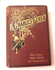 1880, The Works of Charles Lever (4 Works), Pollard & Moss, HB, VG+