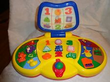 Child Laptop Musical Toy Educational Numbers Shapes Language Heavy Duty Toy