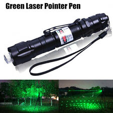 Green Laser Pointer Pen Multiple Pattern Laser Sight Portable Powerful Light