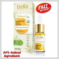 NEW Delia BOTANICAL Flow Face Serum Booster Regenerating Skin with Hemp Oil 10ml