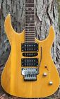 Custom Electric Guitar With Floyd Rose Tremolo Locking Tuners & Case-Free Ship for sale