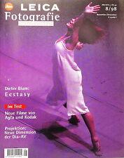 Leica Fotografie International 8/98 November Dezember Zeitschrift Magazin - 9701