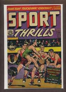 Sport Thrills #13 VG/F 1951 Star Publications Comic Book