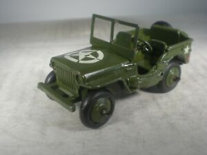 Dinky Toys Military Army #153a Jeep TOTALLY ORIGINAL & OUTSTANDING
