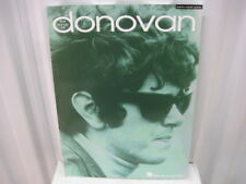 Donovan The Songs of Sheet Music Song Book Songbook Piano Vocal Guitar