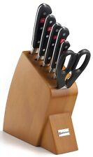 Wusthof Classic Seven Piece Mobile Block Knife Set Bamboo Cherry 8920-2 NEW