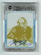 15-16 UD The Cup  Matt O'Connor  1/1  Printing Plate  Auto  Rookie