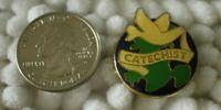Catechist Teacher of Christianity Religion Religious Dove VTG Pin Pinback #30293