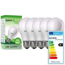5x LUMIRA LED SMD Lampe E27 12W Watt 160° A60 Leuchte Birne 1080 Lumen Warmweiß