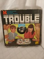 Vintage 1965 Trouble Classic Board Game #310 Kohner Bros Inc.