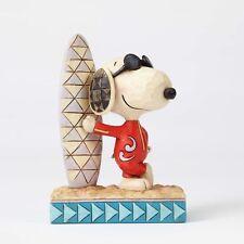 Jim Shore Peanuts Snoopy Surf's Up #4055655 NIB