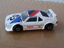 MATCHBOX TOYS ; 1981  BMW M.I  loose car rally racer listing others...