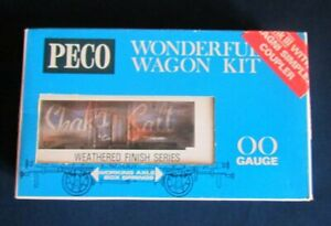 Peco 00 Gauge Wonderful Wagon - 10T 'Shaka Salt' Wagon Weathered - Boxed, Unmade