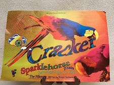 Vintage 1996 Concert Poster Cracker With Sparklehorse The Fillmore