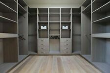 Dressing Room Wardrobe Internal Storage Shelving. Made To Measure. Custom Design