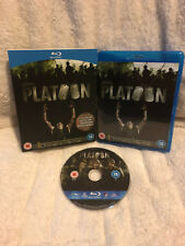 Platoon [Blu-ray] [1986] Willem Defoe Charlie Sheen Reg A,B,C Ex Cond
