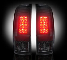 Recon SMOKED LED Tail Lights 99-07 Ford Superduty & 97-03 F150 # 264172BK