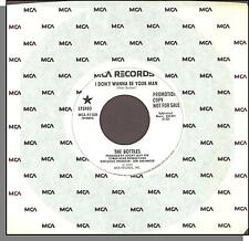 "The Bottles - I Don't Wanna Be Your Man - 1979 MCA Promo 7"" 45 RPM Single!"