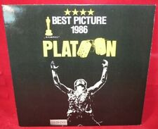Laserdisc {w} * Platoon * Charlie Sheen Tom Berenger Willem Dafoe