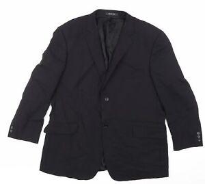 Balmain Paris Mens Black   Jacket Blazer Size 46