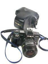 Very Nice MINOLTA MAXXUM 7000 35MM CAMERA w/28-70mm Sigma AF-E Zoom Lens, Case