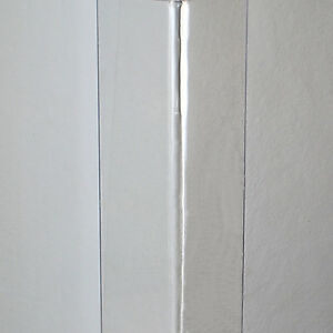 Clear Plastic Wall Corner Angle Strip Guard Protector Various Length + Fixings