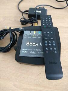 DECODEUR TV UHD TNT Bbox 4 K excellent état