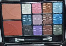 BR 12 Color Palette Eye Shadow & 2 Blusher Colors with MIRROR!