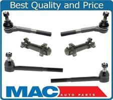 For GMC & Chevrolet Van 83-95 G10 G20 G30 100% New Tie Rod Sleeve 6pc Kit