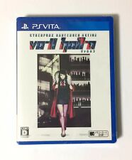 NEW PSV VA-11 Hall-A Cyberpunk Bartender Action JAPAN Sony PlayStation Vita game