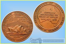 1971 Bronze Medalfor the 62nd. Rotary World Convention Sydney...