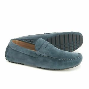 Ecco Men'Dynamic 2.0 Driver Suede Leather Slip On Loafers size US 10-.10.5 (44)